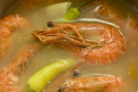 favorite soup: Tamarind Shrimp Soup, A favorite Filipino soup