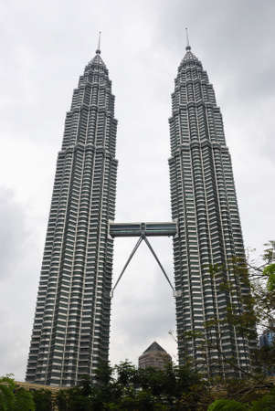 petronas: A view of the Petronas building in Malaysia