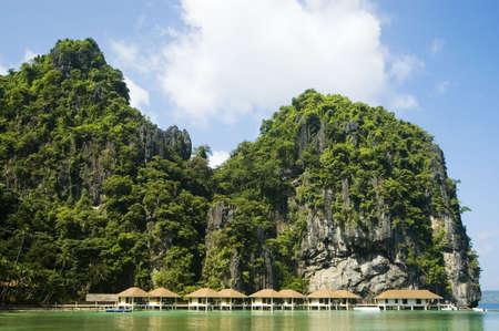 zancos: Turismo rural en zancos en Palawan, Filipinas
