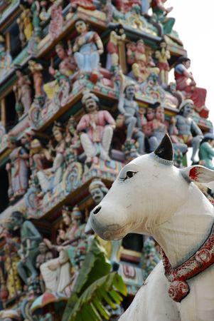 goddesses: Singapores oldest Hindu temple -- Sri Mariammam Temple