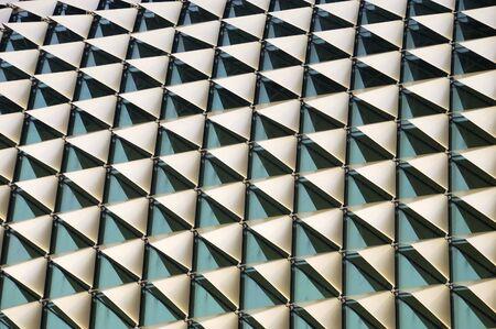 acute angle: A la vista de la Esplanade de Singapur Teatro