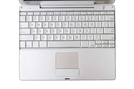 Computer keyboard isolated on white Stock Photo - 3332152