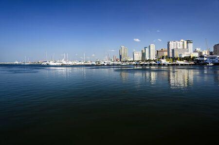 Manila skyline on a clear day