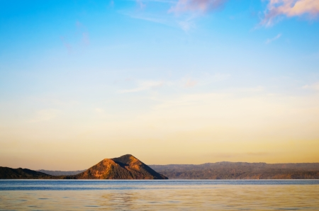 Taal Volcano, the smallest volcano in the world photo