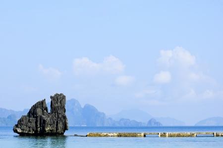 palawan: Limestone in El Nido Resorts, Palawan, Philippines