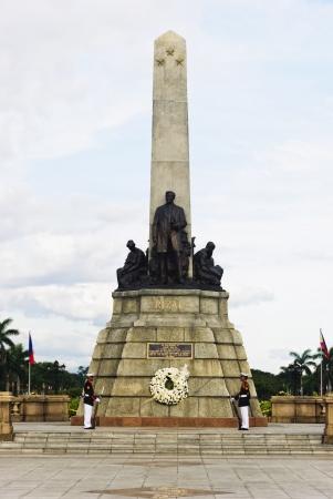 jose: Monument of the national hero of the Philippines, Jose Rizal, in Luneta Park, Manila