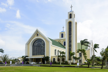 country church: Our Lady of Penafrancia Church, Southren Luzon, Philippines