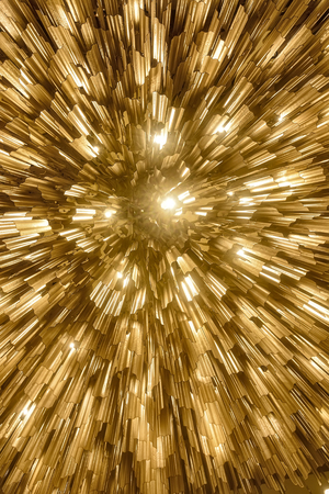 chandelier background: Beautiful abstract hotel celing lighting shot from below.