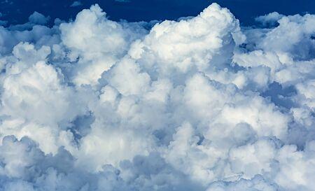 cumulonimbus: Cumulonimbus shot from inside airplane
