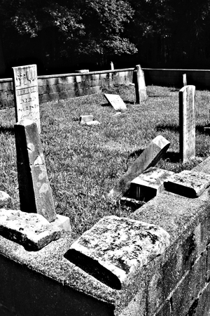 headstones: Headstones on the Wall