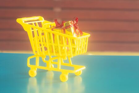 Concept of buy shopping cart.