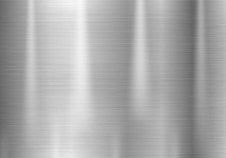 Brushed metal stainless steel texture
