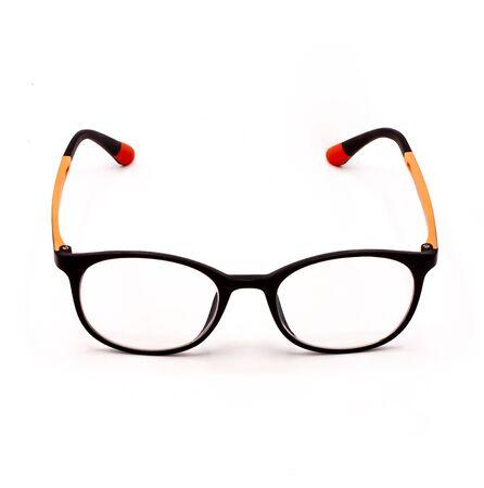 Eye glasses on a white Stock fotó
