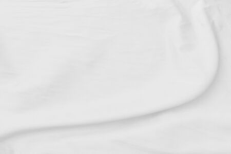 White cloth background abstract with soft waves. Stock fotó - 146407855