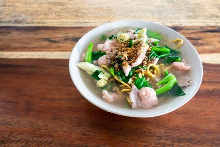 Fried noodle with pork and broccoli,The Best Thai Dishes, Wide Rice Noodles Pork in Thick Gravy,