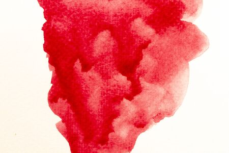 background of red watercolor texture
