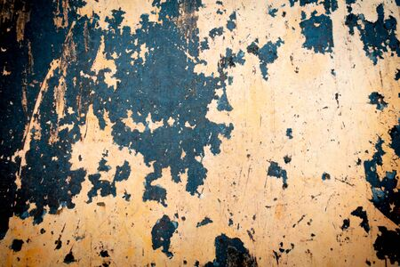 Abandoned old rusty sheet of metal. Abstract modern trendy red rusty texture background