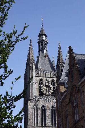 The Cloth Hall in Ypres, Belgium