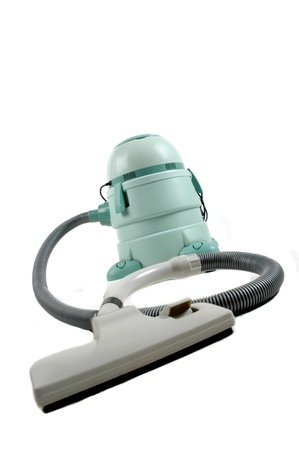 wet and dry vacuum cleaner isolated on white background