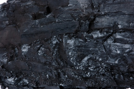 detailed texture of the coal Stock Photo