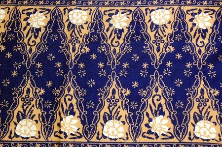 Indonesian fabric design details photo
