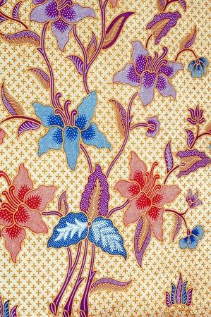 sarong: detailed patterns of batik cloth