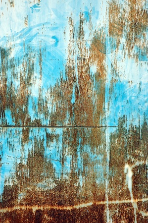 detail textures and patterns of rusty iron plate Stock Photo - 11170734