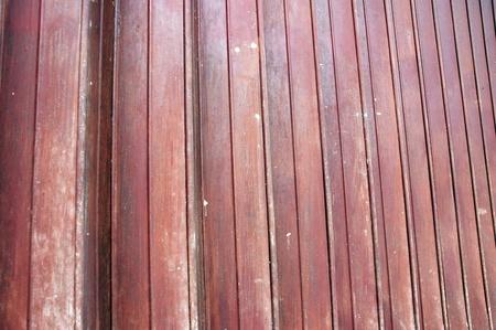 detailed of shape maroon iron door Stock Photo - 11920684