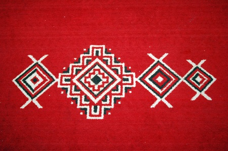 motifs and designs on the carpet photo