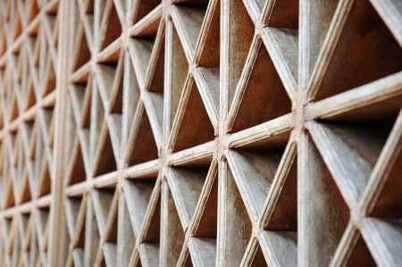 pattern of wood vents photo