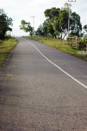climbs and winding road photo