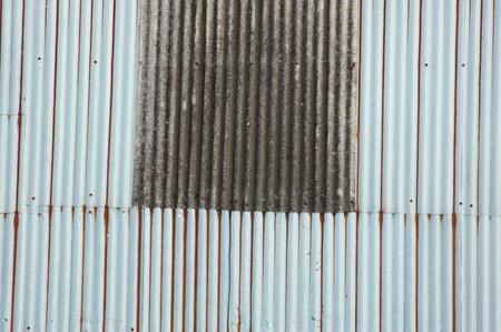 corrugated iron: old tin roof background