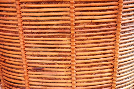 detailed texture of wicker photo