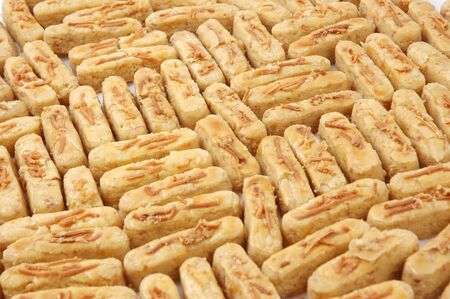 pattern of pastries with a sprinkling of cheese Stock Photo - 14722260
