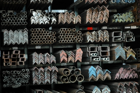 various forms and patterns of iron bars photo