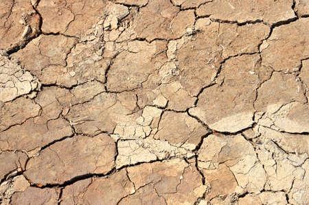 dryness: Dry soil cracks background Stock Photo
