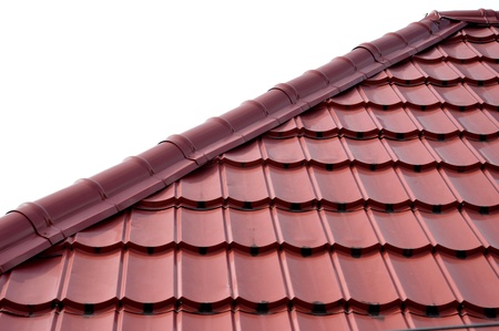 pattern and texture of  roof tiles Stock Photo - 20944382