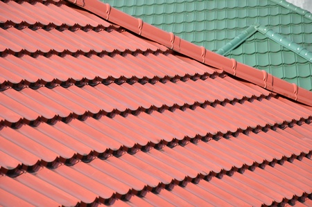 pattern and texture of  roof tiles Stock Photo - 20944385