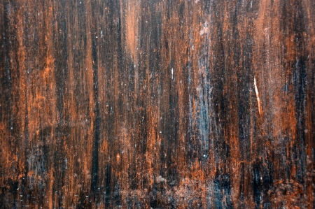 detail textures and patterns of rusty iron plate photo