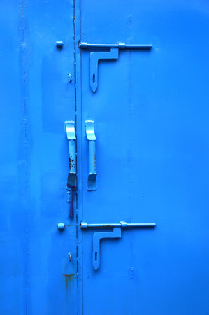 the blue iron door photo