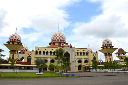 Al Markaz Al Islami清真寺在Maros South Sulawesi印度尼西亚
