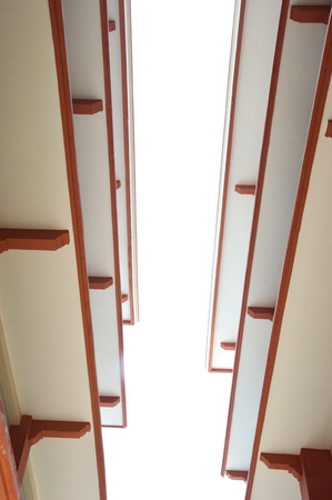 view from the bottom of the ceilings photo