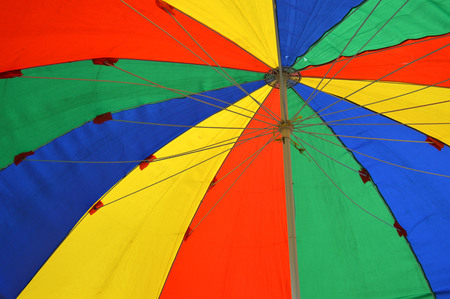 colorful umbrellas tents background photo