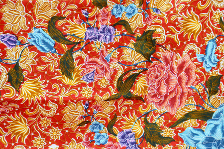 indonesia culture: detailed patterns of Indonesia batik cloth