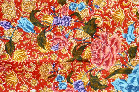 batik: motifs d�taill�s de l'Indon�sie batik