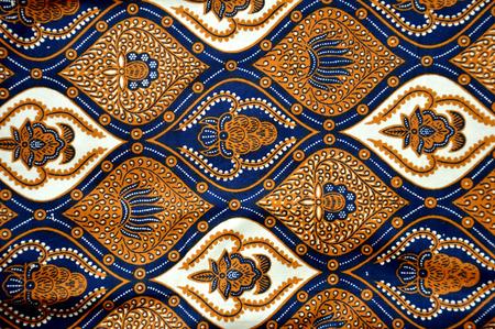 batik: des motifs d�taill�s de l'Indon�sie batik tissu