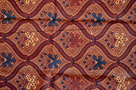 batik: detailed patterns of Indonesia batik cloth