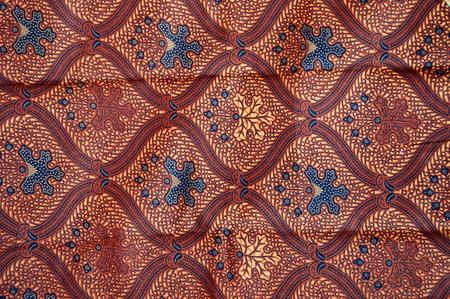 batik: des motifs détaillés de l'Indonésie batik tissu