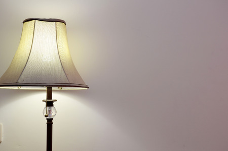 night lamp in a room photo