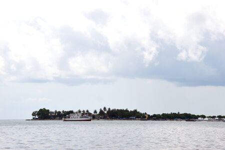 wheater: Lae-lae Island in Macassart Indonesia Stock Photo